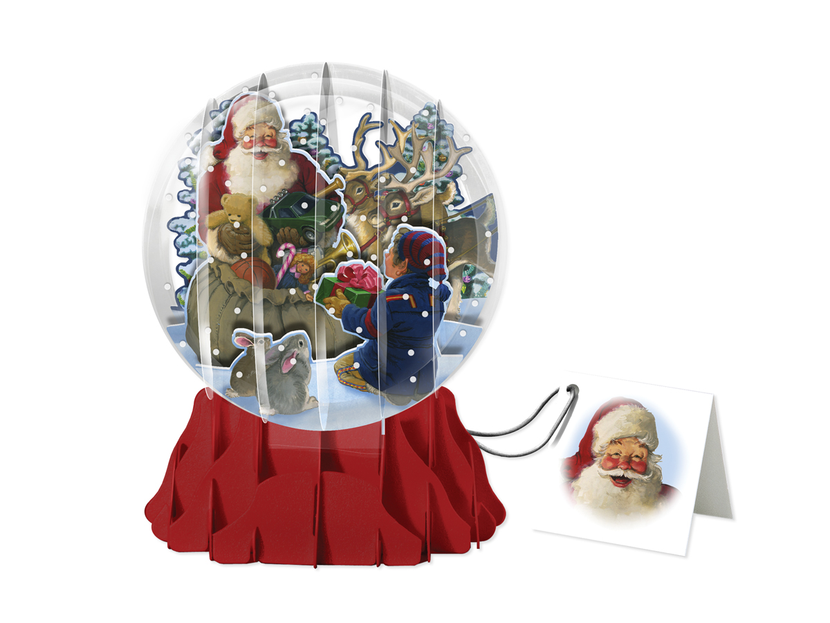 SANTA AND HELPER – LARGE